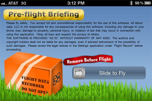 iPhone + iPad Gems: AR.Drone Apps AR.PowerFlight, DroneControl, Flight Record, MatrixFlightHD + More 11