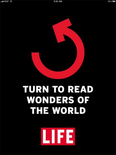 iPad Gems: Fortune Magazine, Life Wonders of the World + Popular Mechanics Interactive Edition