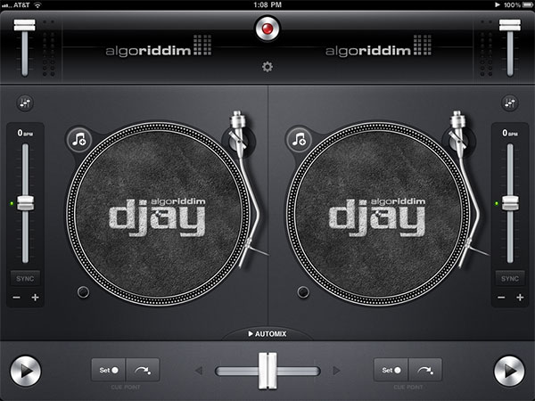 Review: Algoriddim Djay for iPad 1