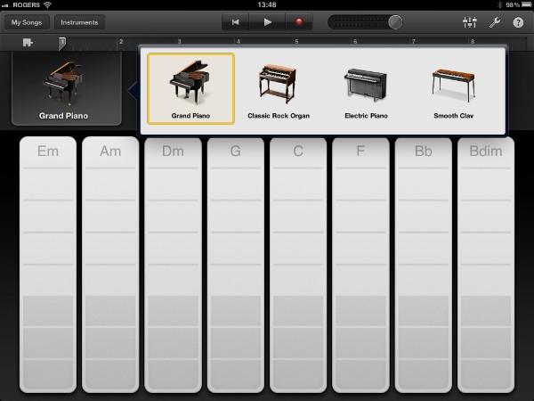 Review: Apple GarageBand for iPad 3