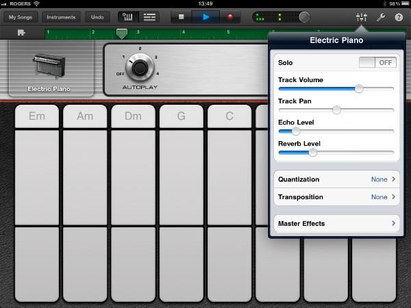 Review: Apple GarageBand for iPad 12