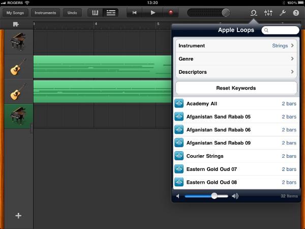 Review: Apple GarageBand for iPad 8