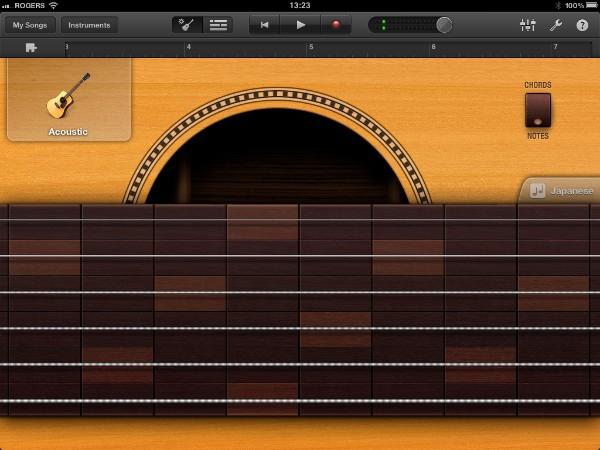 Review: Apple GarageBand for iPad 4