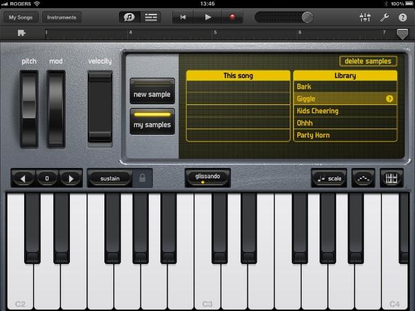 Review: Apple GarageBand for iPad 19