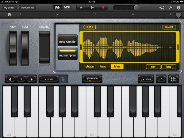 Review: Apple GarageBand for iPad 20