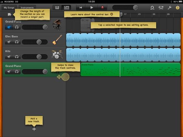 Review: Apple GarageBand for iPad 7