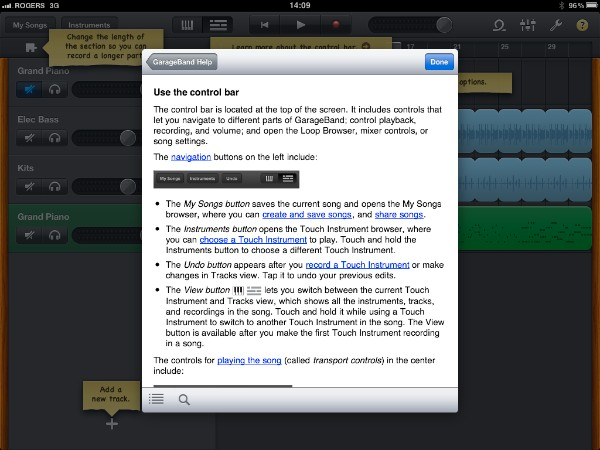 Review: Apple GarageBand for iPad 24