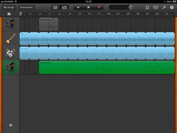 Review: Apple GarageBand for iPad 6