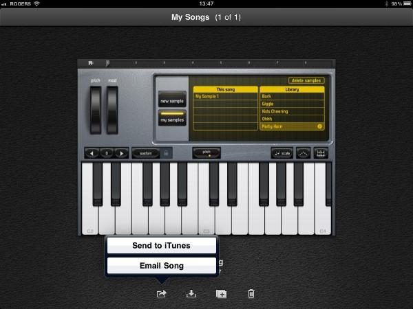Review: Apple GarageBand for iPad 25