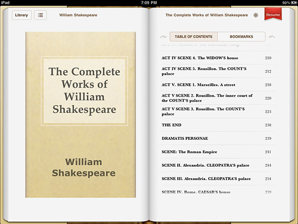 iPad Gems: iBooks, Kindle, and Two Other iPad Book Apps, Reviewed