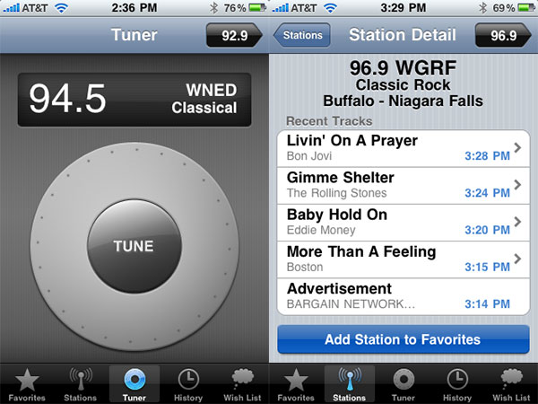 Review: Griffin iFM Radio Browser