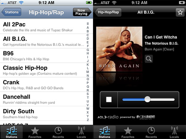 Review: AOL Radio by AOL