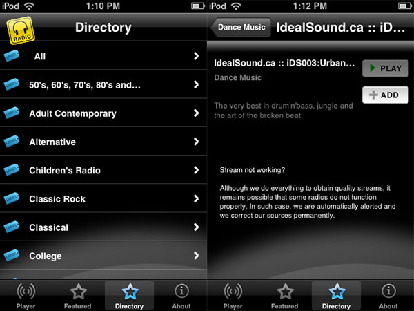 iPhone Gems: 12 Internet Radio Apps for iPhone + iPod touch 29
