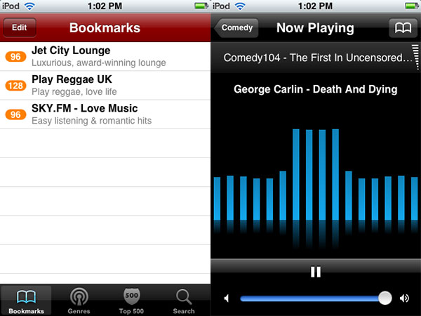 iPhone Gems: 12 Internet Radio Apps for iPhone + iPod touch 26
