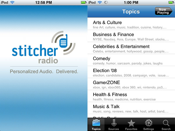 iPhone Gems: 12 Internet Radio Apps for iPhone + iPod touch 33