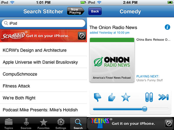 iPhone Gems: 12 Internet Radio Apps for iPhone + iPod touch 35