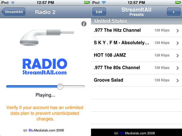 iPhone Gems: 12 Internet Radio Apps for iPhone + iPod touch 24