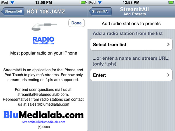 iPhone Gems: 12 Internet Radio Apps for iPhone + iPod touch 25