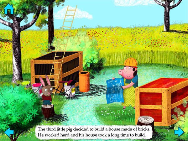 iPad Gems: ABC Music, Three Little Pigs by Nosy Crow + VIZ Manga