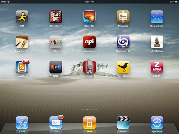 Ipad Gems 15 Apps Including Aim Ebay Epicurious Newsrack Npr Tweetdeck