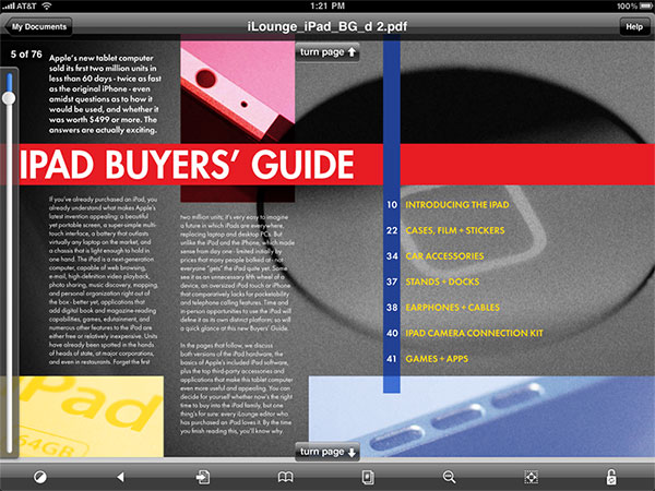 iPad Gems: A1 Perfect Web Browser, GoodReader, Pulse News Reader + Wired Magazine