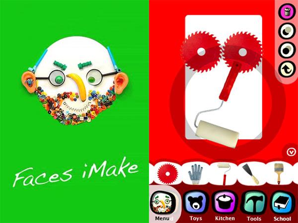 iPhone + iPad Gems: Faces iMake, Montessorium Math, Magic Artist, Preschool Memory Match + WebPad