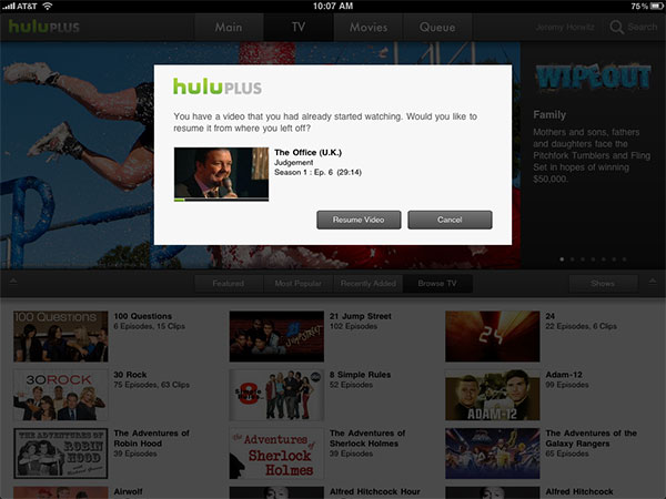 iPhone + iPad Gems: Articles, Hulu Plus, Netflix + Times for iPad 13