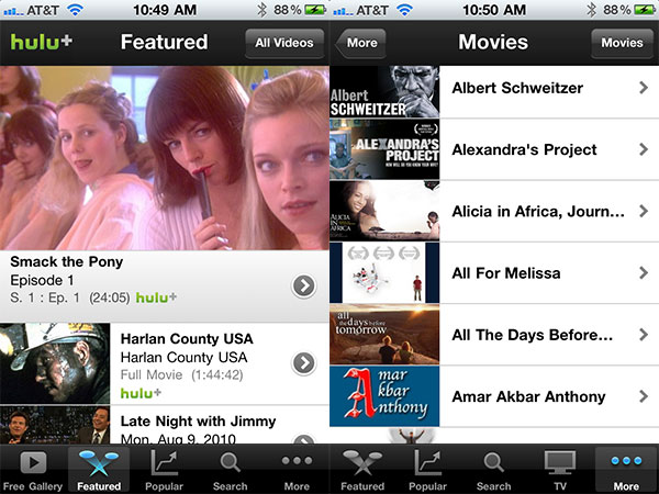 iPhone + iPad Gems: Articles, Hulu Plus, Netflix + Times for iPad 14