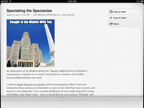 iPhone + iPad Gems: Articles, Hulu Plus, Netflix + Times for iPad 25
