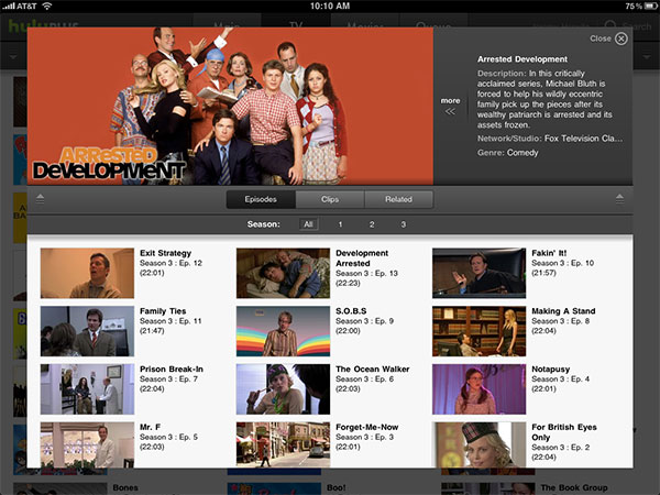 iPhone + iPad Gems: Articles, Hulu Plus, Netflix + Times for iPad 9