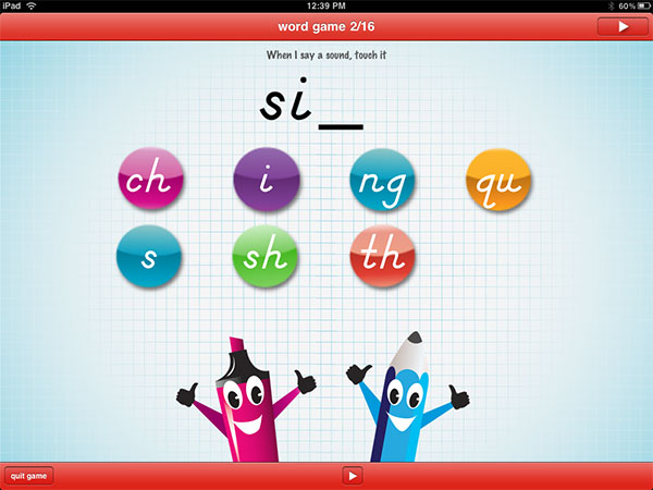 iPhone + iPad Gems: Inkling, Pedlar Lady, abc PocketPhonics + Intro to Letters, by Montessorium