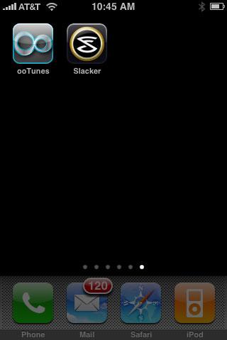 iPhone Gems: Slacker's On-Demand and ooTunes' Internet Radio Apps 1