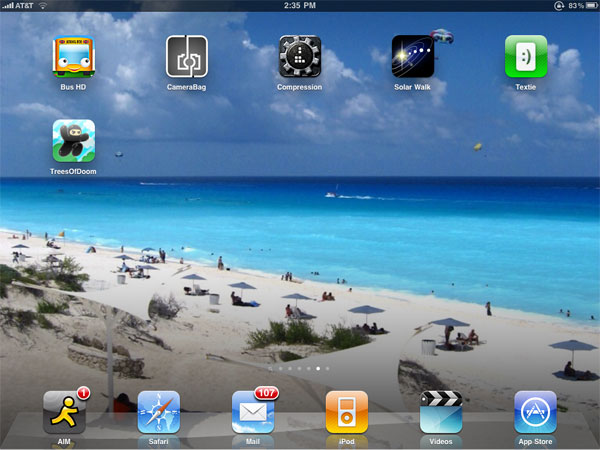 Small Apps + Updates: CameraBag, Compression, Ninjatown, Solar Walk, Textie, Wheels on the Bus HD 1