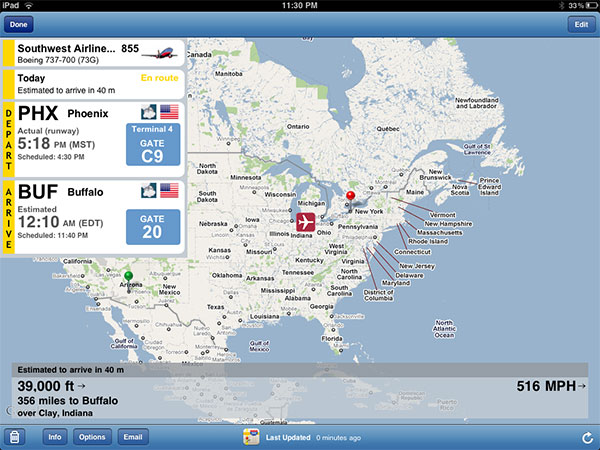 Small Apps + Updates: FlightTrack, Flight Update, River of News, ooTunes, Tuner + Wunder Radio 8