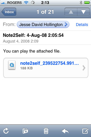Review: Web Information Solutions Note2Self