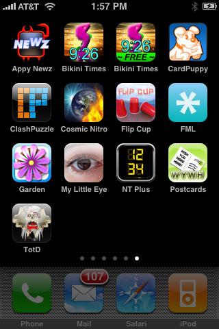 Weird + Small Apps: Postcards, Clocks, Cosmic Nitro, FlipCup, FML, Flower Garden + More 1