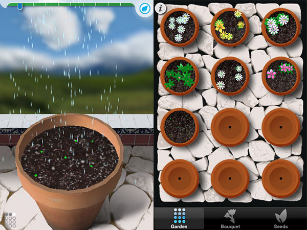 Weird + Small Apps: Postcards, Clocks, Cosmic Nitro, FlipCup, FML, Flower Garden + More 18