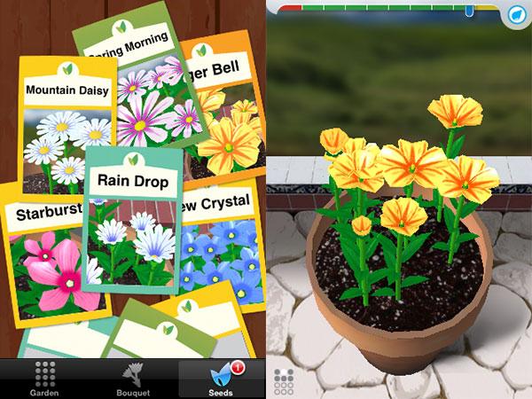 Weird + Small Apps: Postcards, Clocks, Cosmic Nitro, FlipCup, FML, Flower Garden + More 19