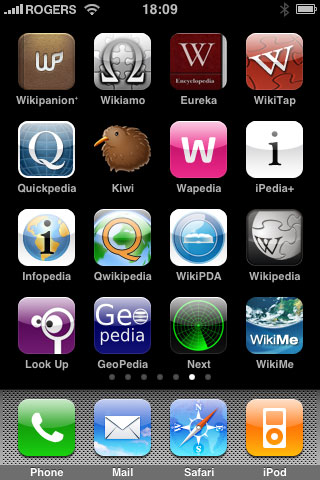 iPhone Gems: Wikipedia Apps 1