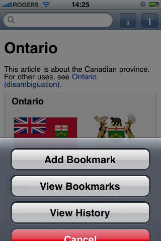 iPhone Gems: Wikipedia Apps 42