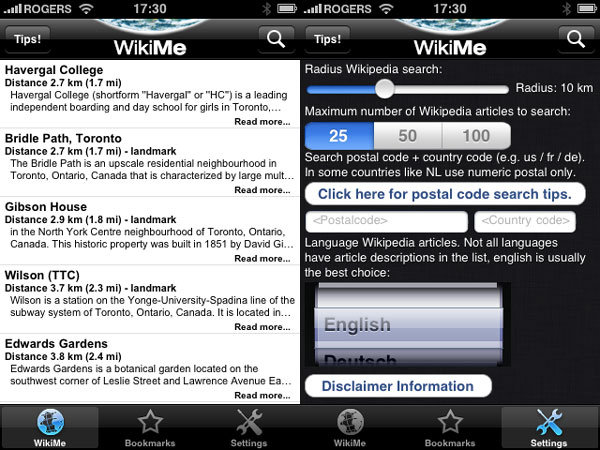 iPhone Gems: Wikipedia Apps 52