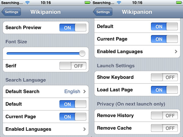 iPhone Gems: Wikipedia Apps 9
