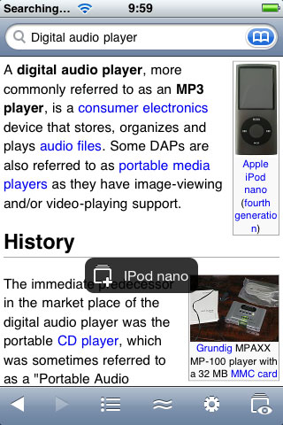 iPhone Gems: Wikipedia Apps 10