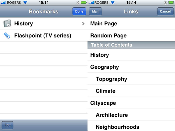 iPhone Gems: Wikipedia Apps 16