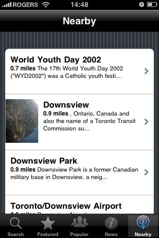 iPhone Gems: Wikipedia Apps 30