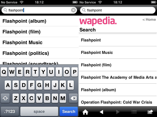 iPhone Gems: Wikipedia Apps 37