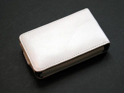 AVA Showcase iPod Flip Nappa Leather 5G Case