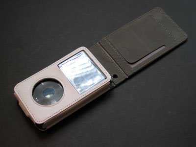 First Look: AVA Showcase iPod Flip Nappa Leather 5G Case