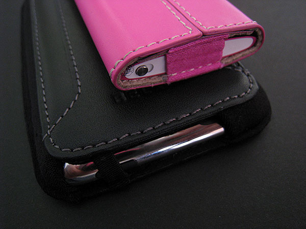 Review: Belkin Leather Sleeves for iPod nano 4G + iPod touch 2G