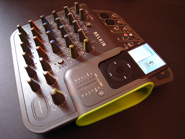 First Look: Belkin TuneStudio 4-Channel Mixer for iPod